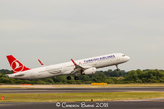 Turkish Airlines TC-JTL A321-200 (IMG_9829) (Cameron Burns) Tags: turkishairlines turkish airlines tk tcjtl çengelköy airbus airbus321 airbus321200 a321 a321200 ist istanbul turkey red white blue manchester airport manchesterairport man egcc ringway viewing park airfield aviation aerospace airliner aeroplane aircraft airplane plane canoneos550d canoneos eos550d canon550d canon eos 550d uk united kingdom unitedkingdom gb greatbritain great britain europe action