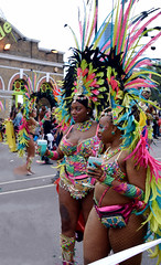 DSC_8321a (photographer695) Tags: notting hill caribbean carnival london exotic colourful costume girls dancing showgirl performers aug 27 2018 stunning ladies