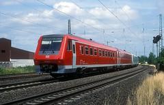 611 045 + 026 + 043  Ingelheim  02.07.99 (w. + h. brutzer) Tags: ingelheim eisenbahn eisenbahnen train trains deutschland germany triebzug triebzüge triebwagen zug db 611 railway webru analog nikon
