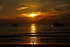 SUNRISE (R. D. SMITH) Tags: sunrise water clouds ocean dawn morning florida canoneos7d melbourneflorida brevardcountyflorida atlanticocean