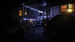 _DSC9200 (Pherit) Tags: autumn blue camillus candle contrast creepy dark dusk fall fire halloween lantern light ny newyork night nightfall orange patio porch sundown syracuse