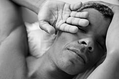 Reginaldo # 18 (just.Luc) Tags: man male homme hombre uomo mann hand main bn nb zw monochroom monotone monochrome bw portret portrait ritratto retrato porträt face gezicht visage gesicht young jung jong jeune