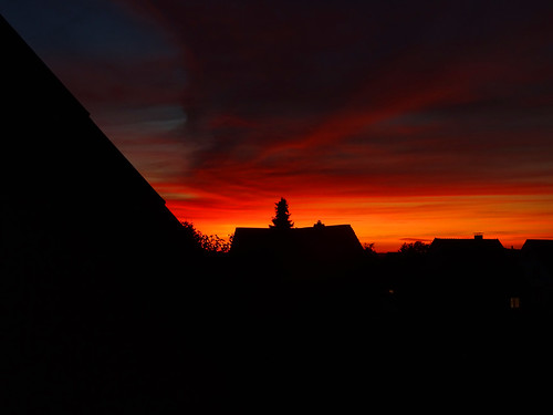 Sonnenuntergang Osterode am Harz