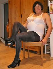 180220_63 (mathildecross) Tags: crossdress crossdressing crossdresser cd pantyhose pumps transvestit