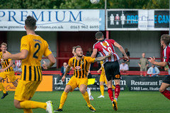 Altrincham FC vs Boston United - August 2018-148 (MichaelRipleyPhotography) Tags: altrincham altrinchamfc altrinchamfootballclub alty ball bostonunited community fans football footy goal header jdavidsonstadium kick mosslane nationalleaguenorth nonleague pass pitch preseason referee robins salfordcity save score semiprofessional shot soccer stadium supporters tackle team vanarama