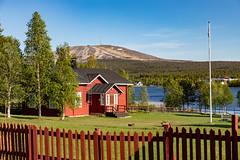 Äkäslompolo, Lapland (Ninara) Tags: kolari lapland äkäslompolo akaslompolo finland suomi lake ylläs yllästunturi skiresort