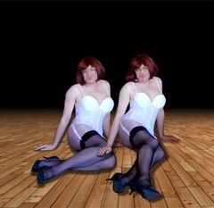 Guêpière blanche (sophie_bas_nylons) Tags: sophie bas nylon stockings satin lingerie heels dress vintage guêpière garter belt talons exhib salope coquine fond de robe combinaison shapewear secretaire secretary strip tease travestie tranny girl gurl femme classy lady