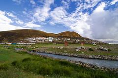 Captivating Kazrok (_Amritash_) Tags: captivatingkarzok karzok captivating landscape ladakh mountains village himalayanvillage himalayas himalayanlandscape remote remoteindia stream fields camps