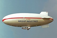 G-BIHN   Airship Industries Skyship 500 [1214/02] Cranfield 03/07/1982 (raybarber2) Tags: 121402 abpic airportdata airship cn121402 egtc flickr gbihn johnboardleycollection planebase slide ukcivil
