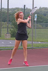 IMG_7598 (SJH Foto) Tags: girls high school tennis action shot hempfield teens