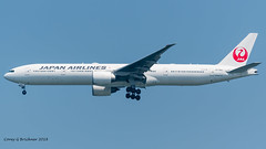 JA738J (coreybrickner) Tags: ja738j boeing b777 b77w b777346er heavy jl jl2 hnd sfo hndsfo avgeek airlines aviation airport spotting nikon d500 tamron