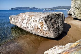 Fallen Giant, Zakynthos, Greece