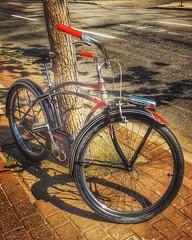 Bike Old School _6217HSS (Barrie Wedel) Tags: bike bikes hdr tonemapping hss sliderssunday overprocessed digitalart outdoor urban yqr regina saskatchewan canada snapseed instagram