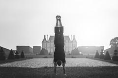 (dimitryroulland) Tags: nikon d600 85mm 18 dimitryroulland performer art artist handstand balance sceaux natural light castle