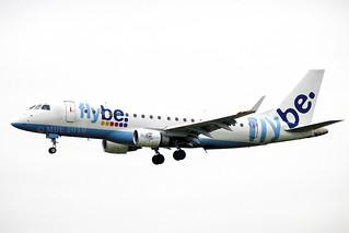 G-FBJE | FlyBe | Embraer ERJ-175STD (170-200) | CN 17000336 | Built 2012 | DUB/EIDW 22/02/2018