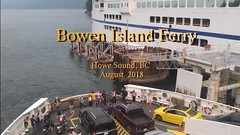 Bowen Island Ferry Video 2018 (CanadaGood) Tags: canada britishcolumbia bc vancouver sea howesound ferry bcferries bowenisland people person music video flag harbour ship 2018 thisdecade canadagood colour color
