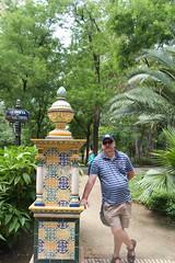 in the garden (Val in Sydney) Tags: sevilla seville spain espagne espana