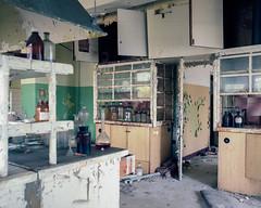 (brokenview) Tags: portra400 film kodak abandoned abandonment decayed decay brokenviewnet urbanexploring industrial explore explored