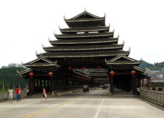 Sanjiang bridge (rvandermaar) Tags: sanjiang guangxi china dong bridge