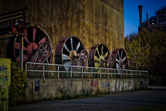 DSC_3794 (Lucifor1976) Tags: turbinenhalle abandoned architecture building exterior built structure factory history industry metal nature night no people old outdoors pollution past transportation wall feature wheel