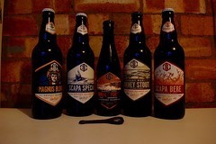 Swannay Selection (remcclean) Tags: swannay brewery orkney beer ale scotland drink magnus blond scapa special sneaky wee stout porter barrel aged bere barley ancient tasty