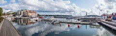 Test of m43 camera panorama stitch EM1B3987 (Bengt Nyman) Tags: guestharbor vaxholm stockholm sweden august2018