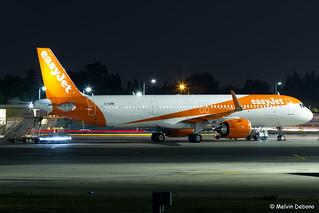 easyJet Airbus A321-251NX    G-UZMB     LMML