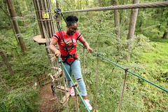 180831-A-BQ883-248 (704thpublicaffairs) Tags: fortmeade 704thmilitaryintelligencebrigade 704th mi duty day with god zip lining military army chaplains corps