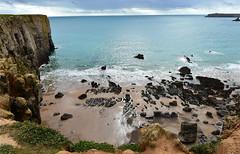 634 Stackpole Welsh coastal path (Pixelkids) Tags: stackpole pembrokeshire pembrokeshirecoastalpath wales coast landscape landschaft cliffs explored explored260