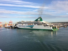 Ulysses at Dublin Port (Lonfunguy) Tags: dublinport ulysses ferry ship irishferries carferry