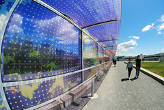 Seattle Cloud Cover art exhibit. Olympic Sculpture Park. (Infinity & Beyond Photography) Tags: seattle cloud cover art installation olympic sculpture park outdoor exhibit