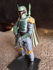 Bandai's Boba Fett (njgiants73) Tags: 1 slave jedi return back strikes empire hope new wars star fett boba bandai