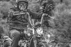 Thunder in the Glens 2018 (Alex Rainnie - Bikerazzi (FB)) Tags: bikes harleys hd harleydavidson motorbikes bikers hdr bw blackwhite monochrome triumph trumpet people smiles
