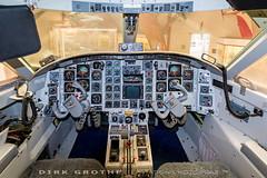 AalborgAirTaxi_Corvette_OY-SBR_20180827_STA-2 (Dirk Grothe | Aviation Photography) Tags: danmarks flymuseum oysbr aérospatiale corvette