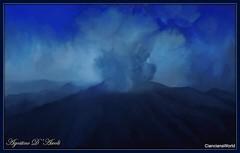 Studio per un vulcano in eruzione - Settembre-2018 (agostinodascoli) Tags: vulcano landscape paesaggi texture nature cielo photoshop art digitalart creative agostinodascoli