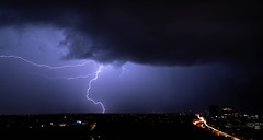 Lightening (Kirsten Walker Photography) Tags: clouds lightening storm electricity sky nature longexposure nightscape nightphotography sydney