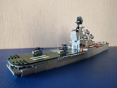 _20180910_153732 (Lego shipyard) Tags: lego cruiser ship carrier 1123 condor moskva moscow leningrad лего корабль крейсер вертолетоносец кондор москва ленинград