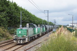 BB60001 + BB60061 - Train 464556 Rosporden>Rennes