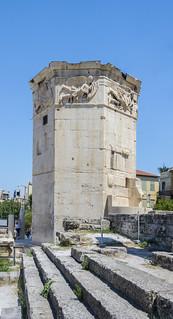 Tower of the Winds (Kyrrhestos' Clock) - Roman Agora - Athens, Greece