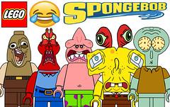 Funny Lego Spongebob Squarepants Minifigures !!! Part 2 (afro_man_news) Tags: lego minifigures funny memes spongebob squarepants characters all squidward patrick star mr krabs plankton pearl sandy cheeks gary snail mrs puff custom tv show must wacth jokes cartoon
