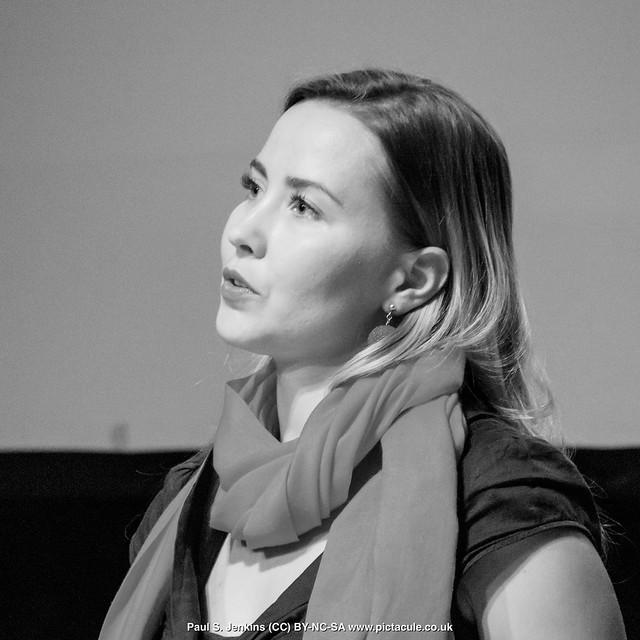 P8300182 Joanna Bagniewska at Winchester Skeptics
