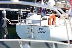 Dutch Boat Names at Veere (90) (bertknot) Tags: funnyboatnames dutchboatnames leukebootnaam leukebootnamen veere