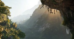 Beautiful place (Den7on) Tags: shadow tomb raider eidos montreal square enix lara croft tree mountain water tropical river rock