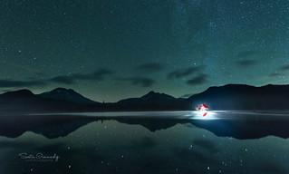 Sparks Lake at Night. (Deschutes NF, OR)