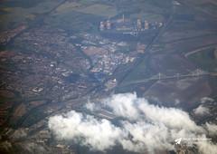 River Mersey, Widnes and Runcorn, Lancashire (Kev Slade Too) Tags: widnes runcorn rivermersey lancashire merseygateway airtoground