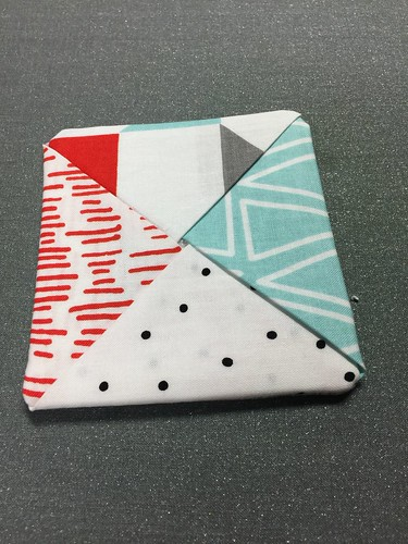 finished coaster - fabric coasters