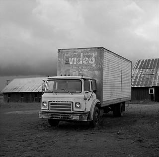 Truck, near Donald, Oregon