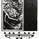 Woodcut ornaments by Julie de Graag (1877-1924). Original from the Rijks Museum. Digitally enhanced by rawpixel. thumbnail