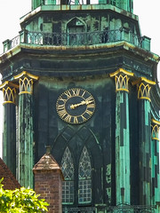 Gilded clock tower (Raoul Pop) Tags: berlin germany copper balcony mansard historic gilded technology descriptor clocktower architecture time column material structure metal de