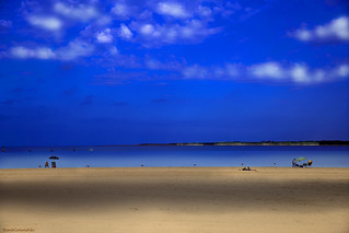 Sombra en la arena - Shadow on the sand